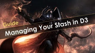 Diablo 3 Guide on Managing Inventory and Stash Space