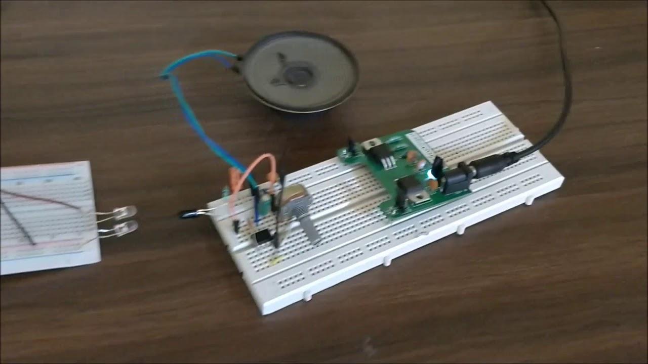 Schematicscom Ir Audio Transmitter And Receiver