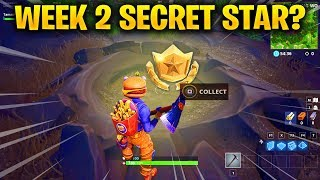 Week 2 SECRET Battle Star Location Analysis from Loading Screen in Fortnite Season 6