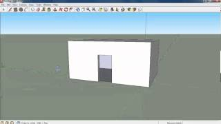 How to build a house in Google SketchUp 8(This video tutorial supports my lesson materials (Welcome to 3D Design Lesson 1) which can be found on ..., 2013-02-28T14:33:57.000Z)