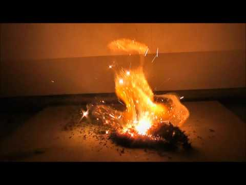 Magnesium Spiked Ammonium Dichromate Double Volcanic Eruption