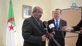 المبعوث الأممي كوبلر يتحادث مع الوزير مساهل حول الوضع الليبي