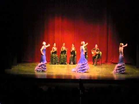 Baile de Flamenco. Fin de curso Academia Cardena Algeciras a 04/05/2015