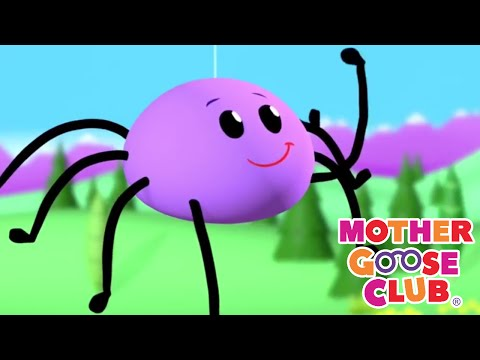 NURSERY RHYMES | Itsy Bitsy Spider + More Nursery Rhymes | Mother Goose Club | Rhymes for Kids