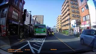 【ドライブ動画】船堀街道~江戸川区から足立区へ