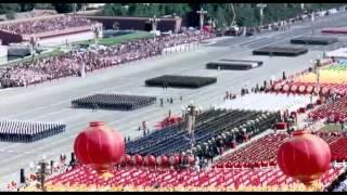 أضخم عرض عسكرى فى العالم - الجيش الصينى