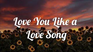 Love You Like a Love Song - Selena Gomez (Lyrics)