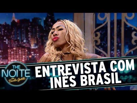 Entrevista com Inês Brasil  The Noite 150317