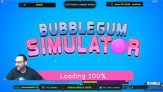 ⛄🌎 Roblox LIVE Stream #170 | BubbleGum Sim - PET GIVEAWAYS!! 🌎⛄