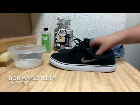 How to clean Nike SB