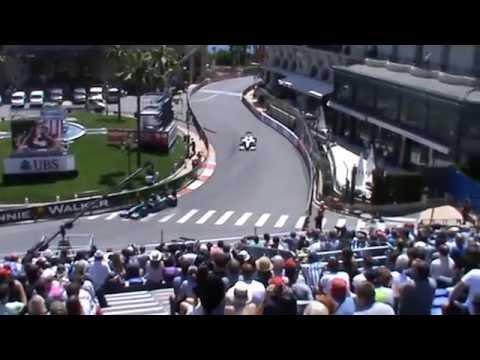 View from Casino Grandstand at 2014 Monaco F1 Grand Prix