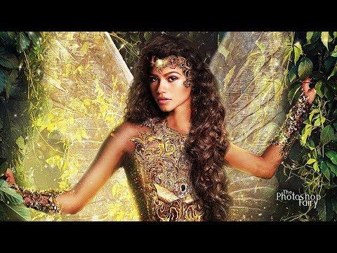 Zendaya is a Warrior Fairy Princess