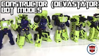 Toyworld Constructor (aka Devastator) Vehicle and Robot Modes
