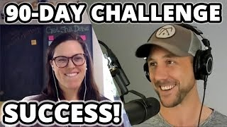 90 Day Blogging Challenge Success Story! Inside Info On How To Crush Your Niche Marketing Challenge!