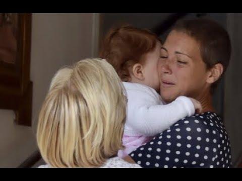 El emocionante reencuentro de María Jesús Ruiz y sus hijas