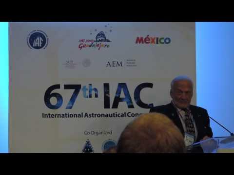 Buzz Aldrin comments on NASA SLS program