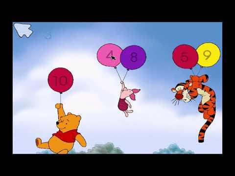 Disney's Winnie the Pooh Toddler: Part 4 - Piglet's Game (Gameplay/Walkthrough)  