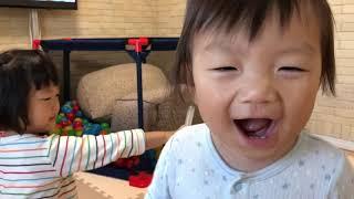 あいしーおままごとをする Play House