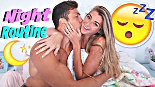 Engaged Couple Night Routine! *Jatie Vlogs After Dark*