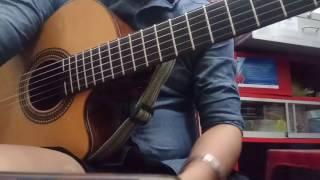 HuynhPhuong - Guitar Cover - Con Đường Xưa Em Đi - Châu Kì và Hồ Đình Phương