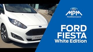 Ford Fiesta White Edition
