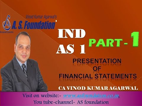 Ind AS 1  part 1 Presentation of Financial Statements