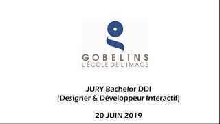 Jury 2019 : Bachelor DDI (Designer & Développeur interactif) 20 juin 2019