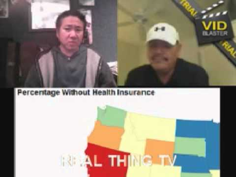 Many without Health Insurance, without jobs