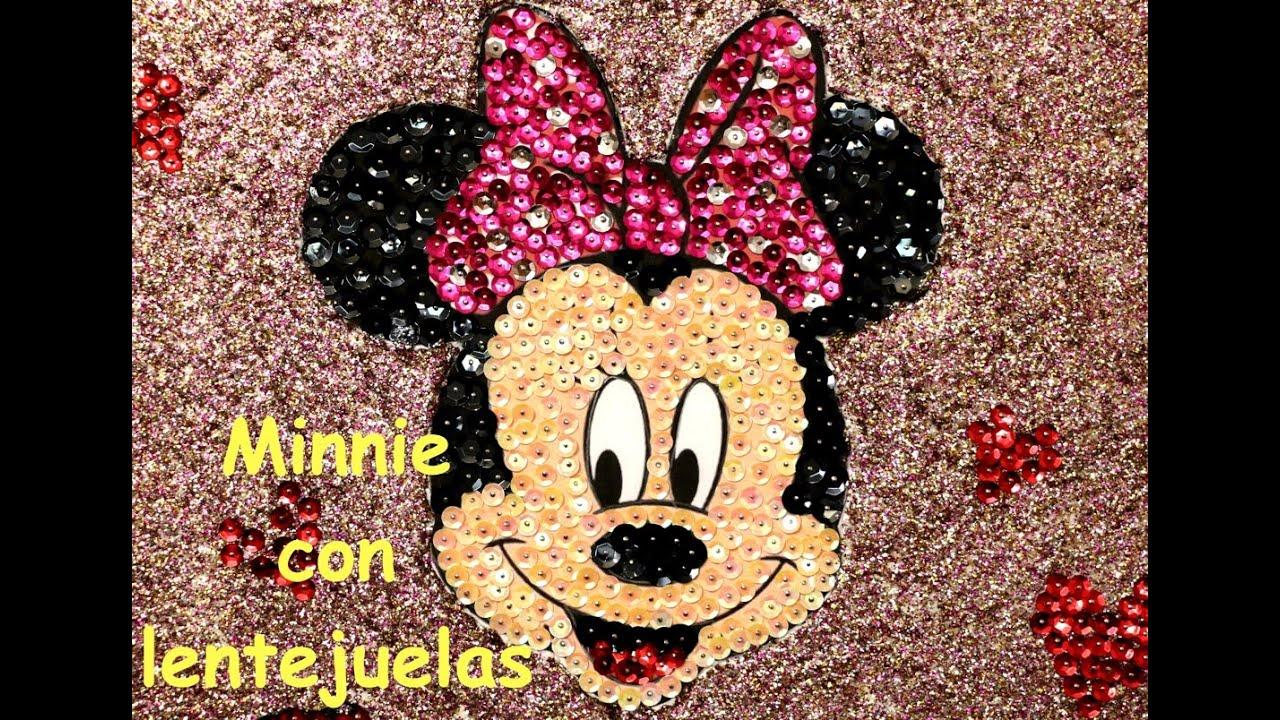 Minnie mouse con lentejuelas para fiestas minnie mouse - Ideas para fiestas ...