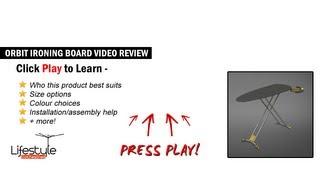 Hills Orbit Ironing Board - Innovative Ironing Board