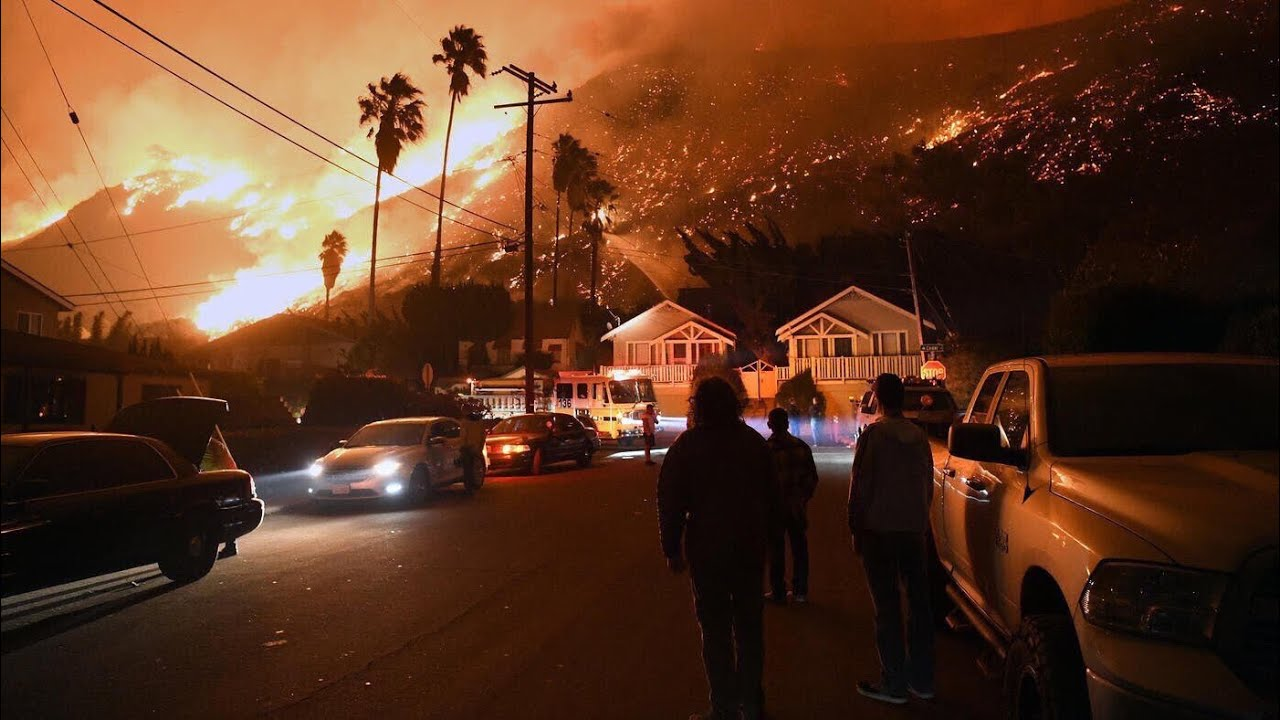 California fires: Why is everything burning?
