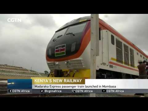 #SGRLaunch Madaraka Express passenger train launched in Mombasa