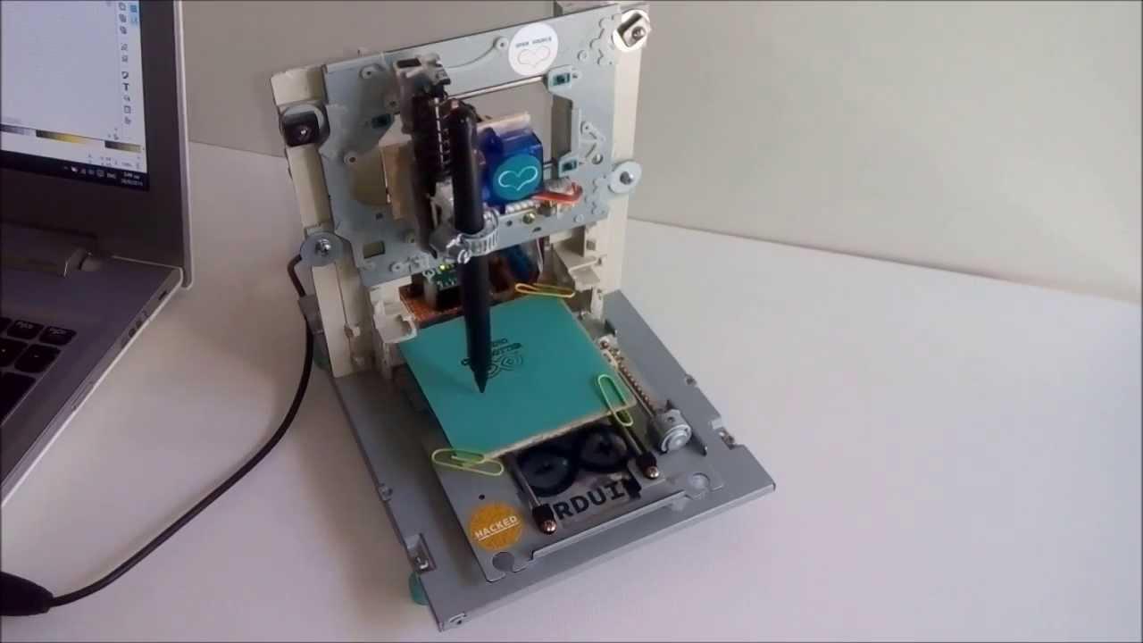 Mini cnc plotter arduino based doovi