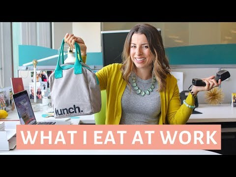 What I Eat In a Day at Work | EASY & Healthy Meals #3