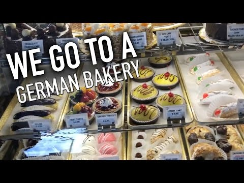 WE GO TO A GERMAN BAKERY