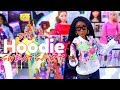 DIY - How to Make: Doll Hoodie Sweatshirt PLUS Paint Splatter Effect & Mini Room