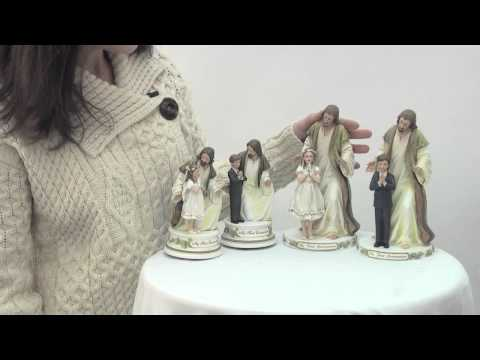 First Communion Girl and Boy Figurines