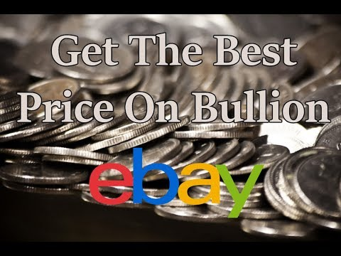 Get The Best Deal On Silver Bullion Using Ebay's Sold Item Feature