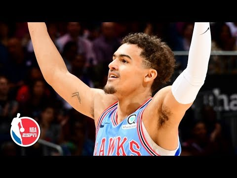 Trae Young's 33-point double-double fuels Hawks' vs. 76ers | NBA Highlights thumbnail
