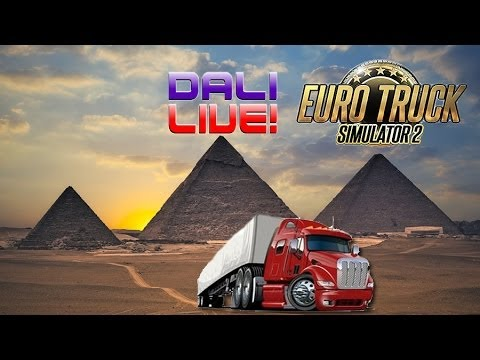 ETS 2 LIVE! - Pyramids on the new TSM Map v6.2 (with commentary)