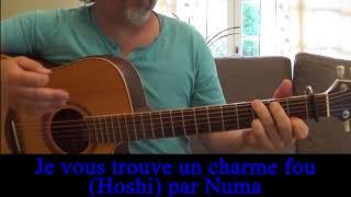 Hoshi Je vous trouve un charme fou Reprise guitare voix