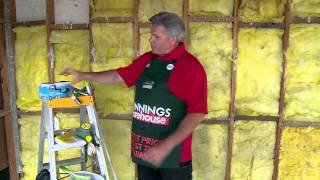 How To Remove Insulation - DIY At Bunnings