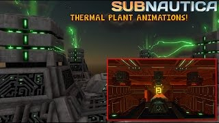 PRECURSOR THERMAL PLANT ANIMATIONS + NEW DATA TERMINALS! | Subnautica News