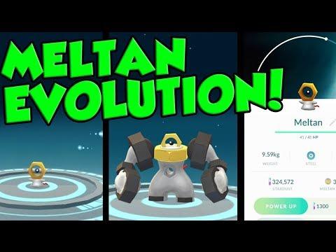 MELTAN EVOLUTION CONFIRMED - How To Get Melmetal In Pokemon Let's Go! thumbnail