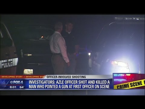 Officer Involved Shooting in Azle