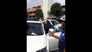 beverly hills lady leaves dog in hot car