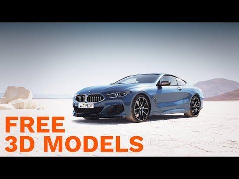 Free 3D Models Package - 3D-MODELS.COM