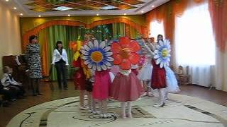 танец цветов. красотище!!!!!!.AVI(шляпы огромные на головках как настоящие цветочки)), 2012-04-26T07:25:37.000Z)