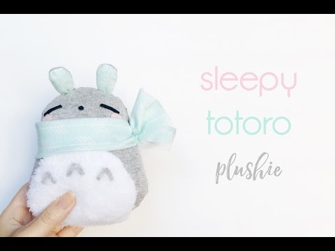 *:・゚xoxo christine | DIY sleepy totoro plushie ・゚*.