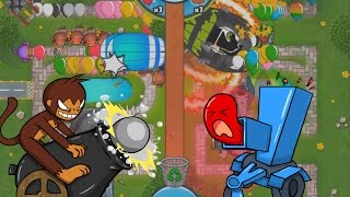 BTD Battles - Cannon + Chipper strategy